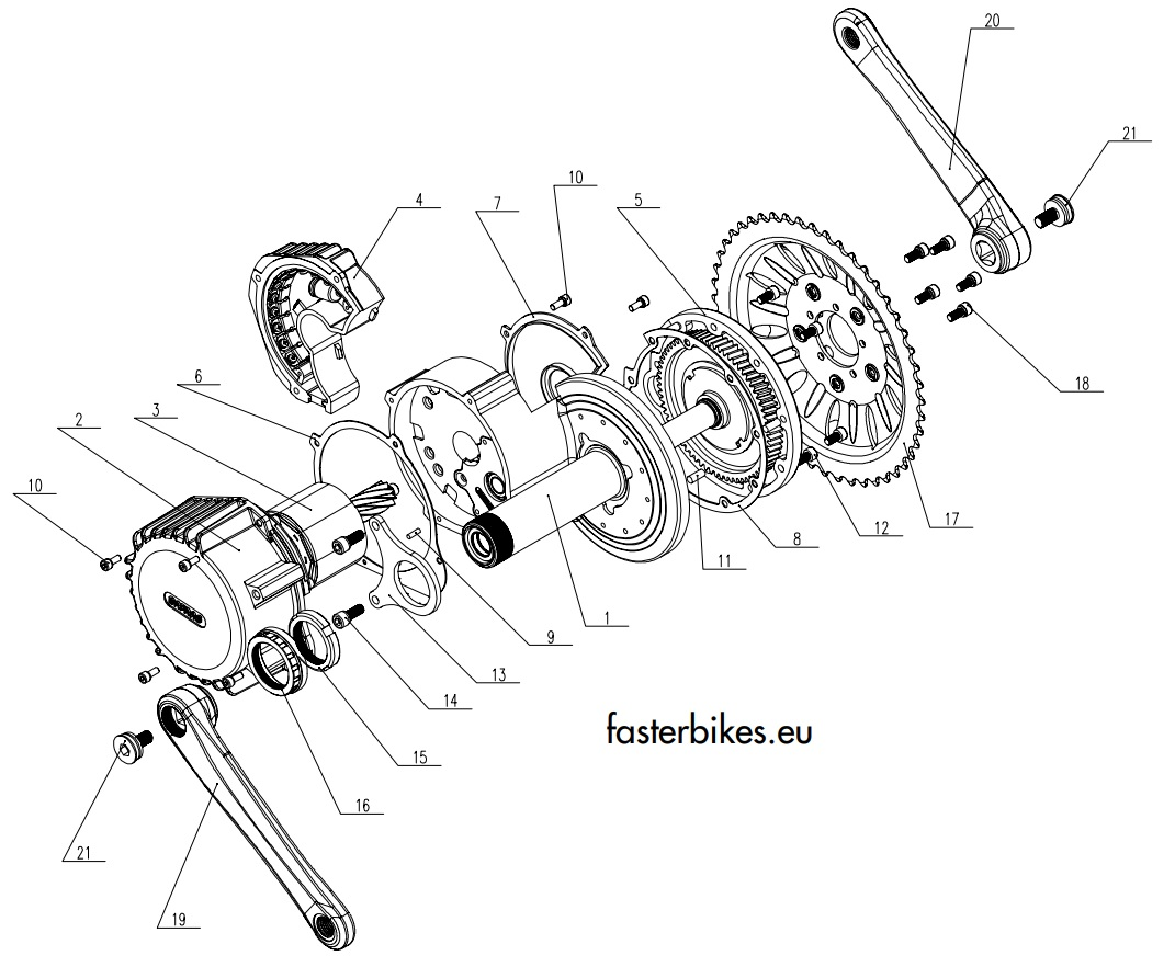 Bafang-bbshd-motor-komponenten